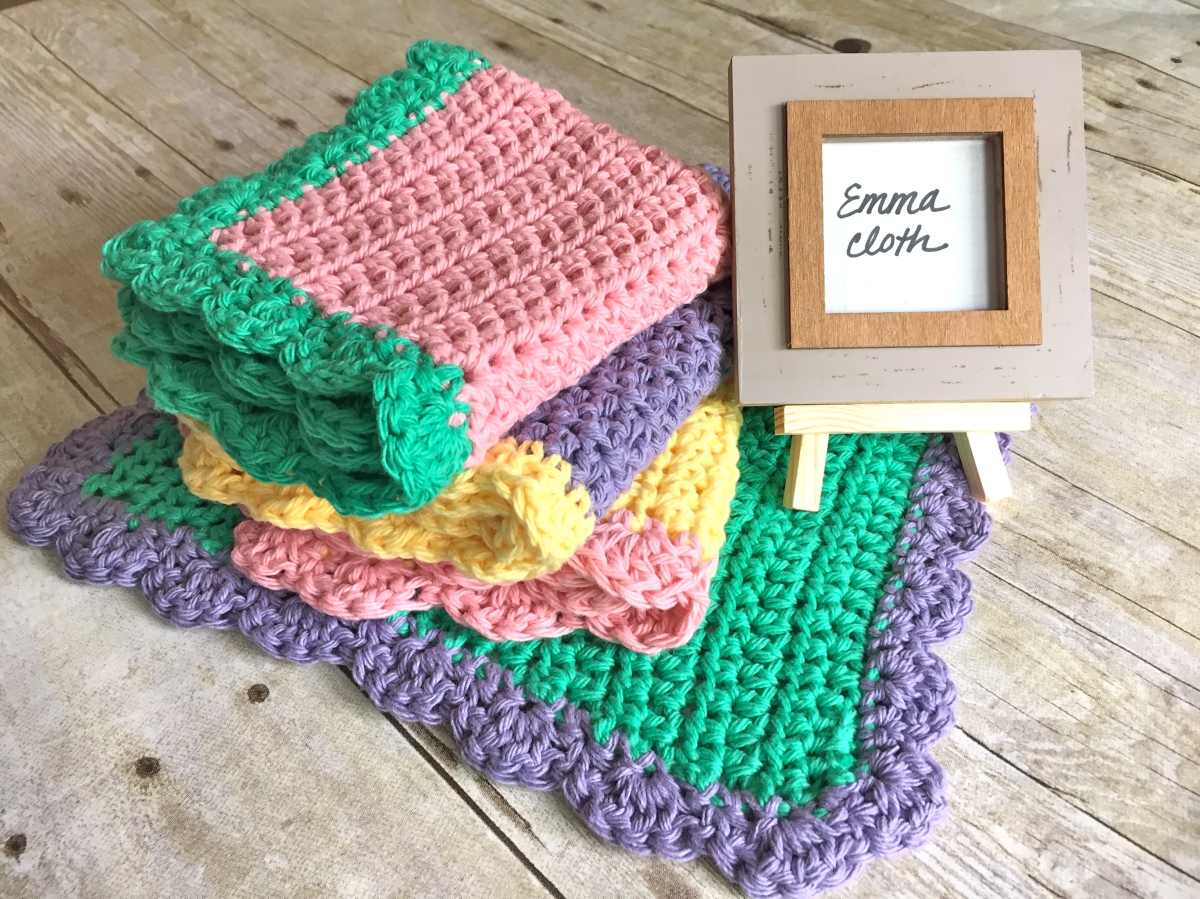 Emma Washcloth - Free Crochet Pattern
