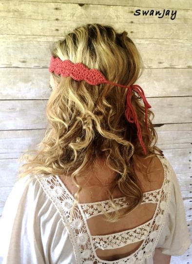 Crochet Boho Headband