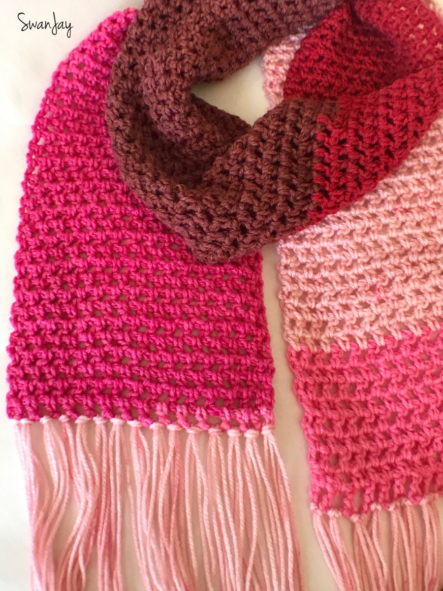 Scarf Love: Valentine's Day Crochet Pattern