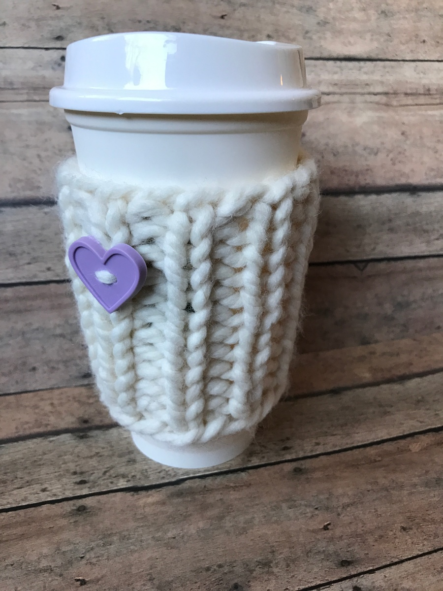 Chunky Cup Sleeve Pattern
